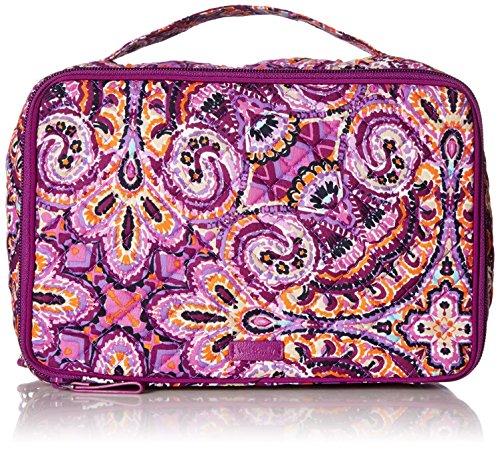 - Vera Bradley Iconic Large Blush & Brush Case, Signature Cotton, Dream Tapestry