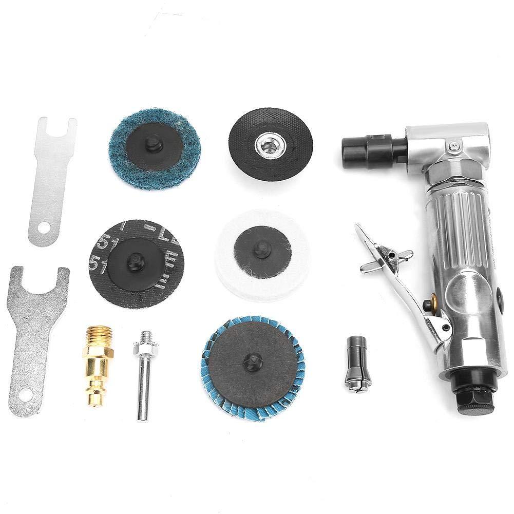 Amoladora neumática industrial de la máquina de doblar de 90 grados con el disco de pulido de 2 pulgadas MBPS