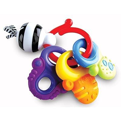 Nuby Fun Keys Teether Ring: Toys & Games