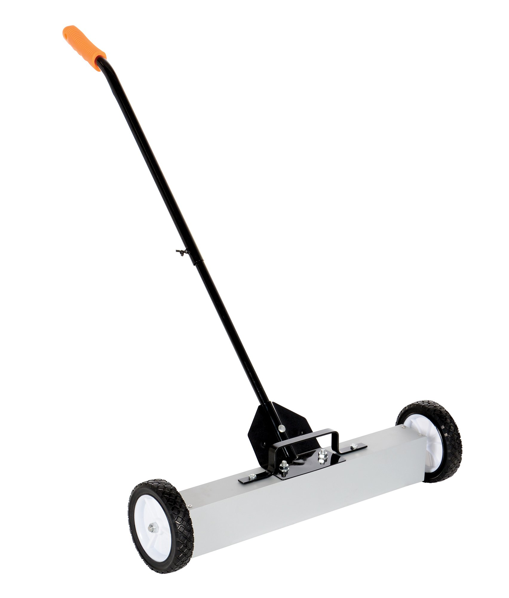 Vestil MFSR-24 Magnetic Handle Release Lever Sweeper, Overall Dimensions 32'' Length x 28'' Width x 27'' Height, 30 lb. Capacity
