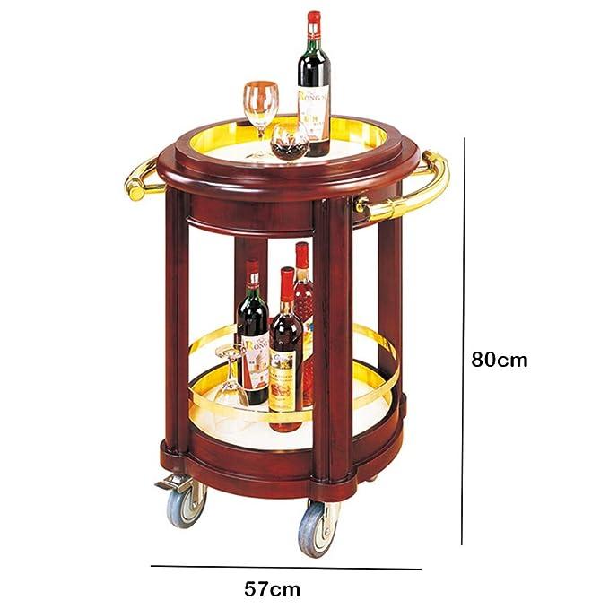 Amazon.com - Storage Trolleys 2-Tier Serving Cart, Wine Tea ...