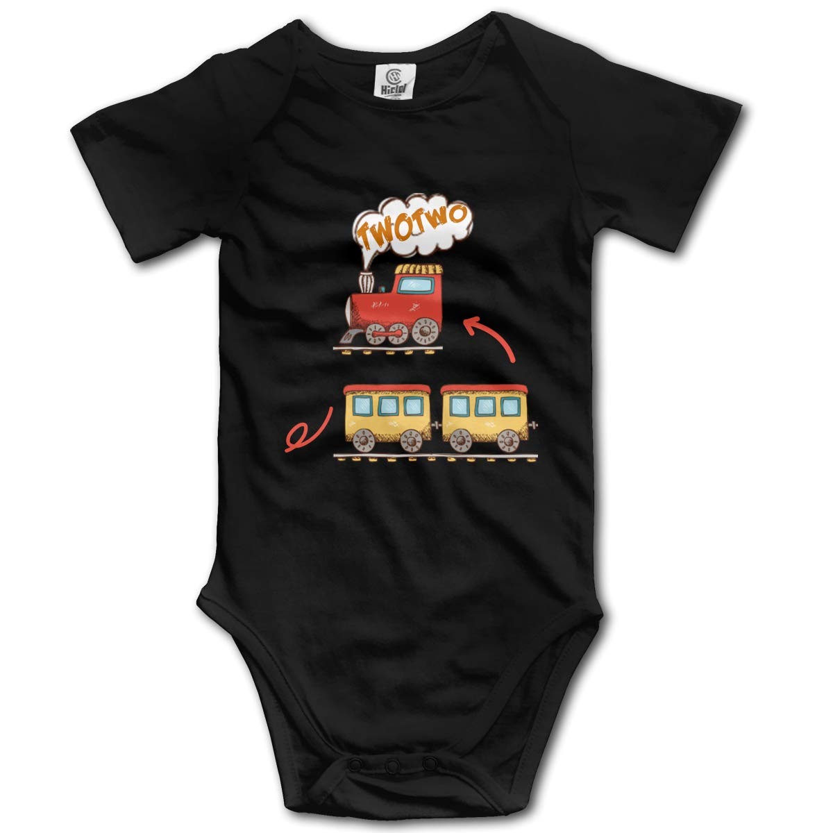 You are Late Again Chocolate Angry Lollipop Boys /& Girls Black Short Sleeve Romper Bodysuits for 0-24 Months