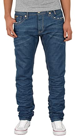 e8bcd1812583 by-tex Jeans homme straight fit jean coupe base pantalon jean stretch AB440
