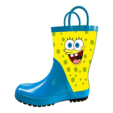 amazon com ta ta frog spongebob children s waterproof rubber rain