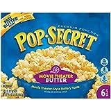 Pop Secret Microwave Popcorn, Movie Theater Butter, 6-Count Box