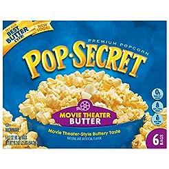 Pop Secret Popcorn, Movie Theater Butter...