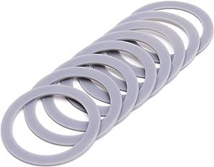 Blender Rubber Gasket 2.6inch Include 8 Packs O Ring Seal, Replace Part 132812-07, Fit for Black & Decker Models BL5000-08 BL1900 BL3900 BL4900 BL5000 BL5900 BL6000
