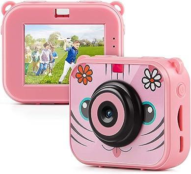 Amazon.es: TAOCOCO Cámara para niños, cámara HD 1080P, cámara de 2 ...