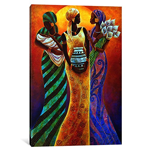 iCanvasART 1-Piece Sisters of The Sun Canvas Print by Keith Mallett, 1.5 by 26 by 40-Inch by iCanvasART