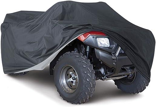 Black XL ATV Waterproof Cover All Weather Universal For Honda Yamaha Suzuki