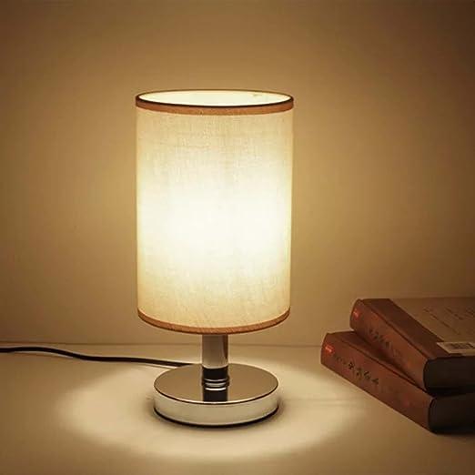 AFSEMOS Lámparas de Mesa,Lámpara de Noche para Estudio Lectura Cuidado Especial para los Ojos 【NO Incluye bombilla y enchufe】
