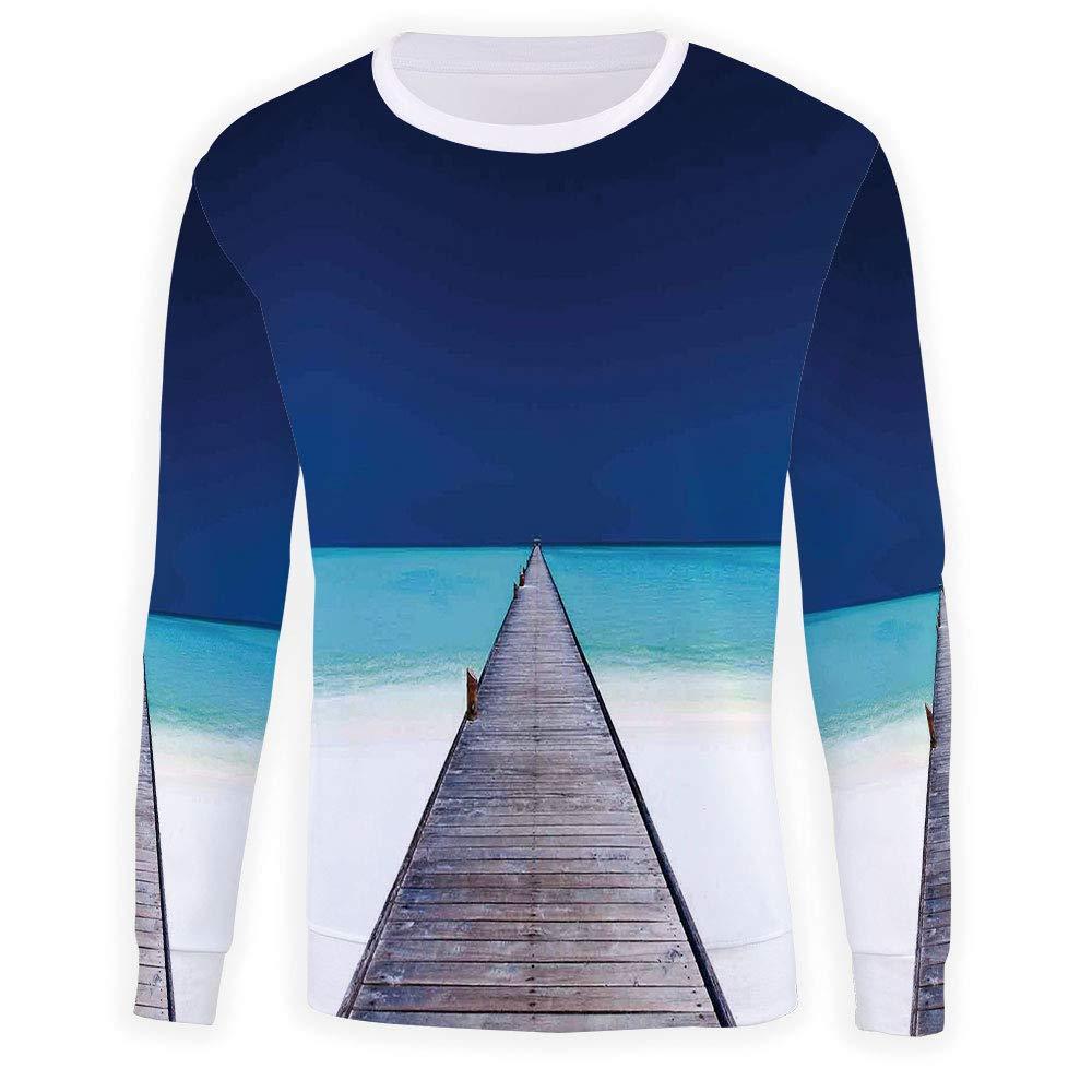 Mens Crewneck Art Sweatshirt