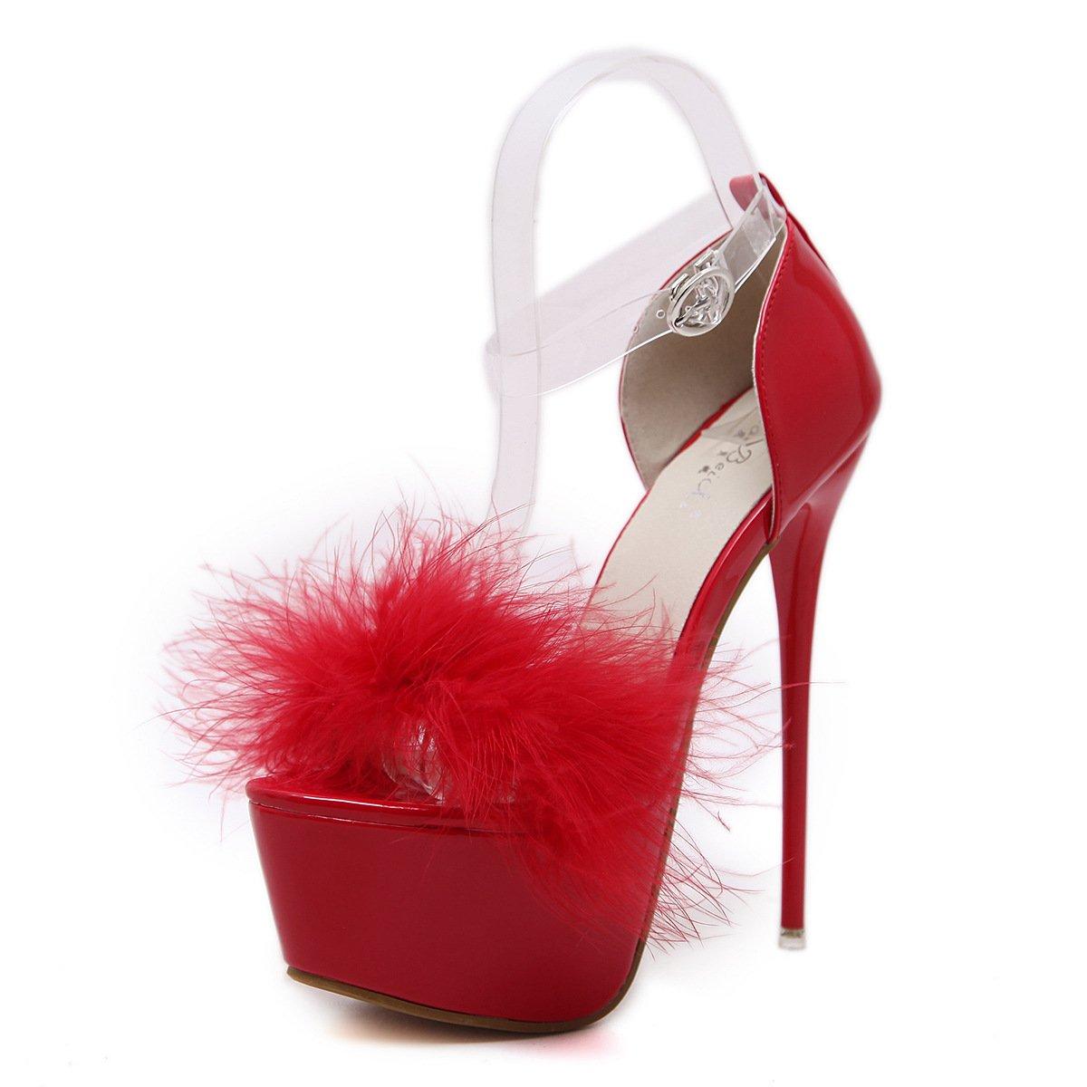 ZHZNVX ZHZNVX ZHZNVX Frühling neue high-heel Schuhe wasserdicht Taiwan dick fein mit einzelnen Schuhe Frauen Schuhe 4497a9