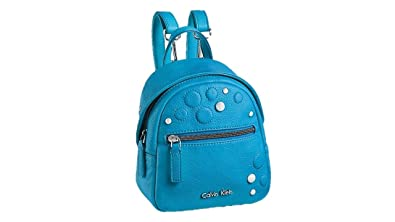 e8adb9b1b10 Image Unavailable. Image not available for. Color: CALVIN KLEIN WHITE LABEL  HAILEY STUDDED STUDIO BACKPACK POOL
