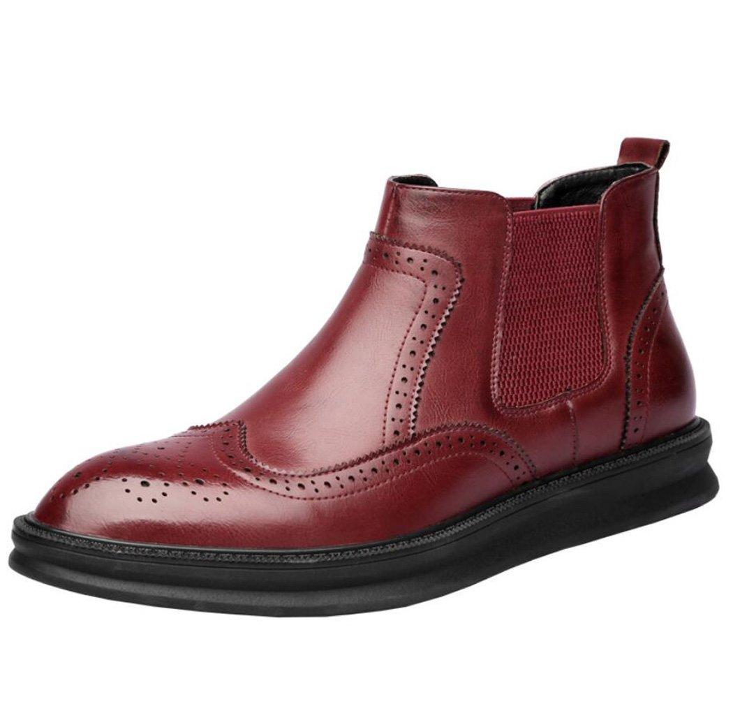 GDXH Herrenschuhe Stiefel Stiefel Frühling Freizeitschuhe Formale Schuhe