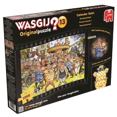 Wasgij Original 13 - Calendar Girls - 1000 Piece Jigsaw Puzzle