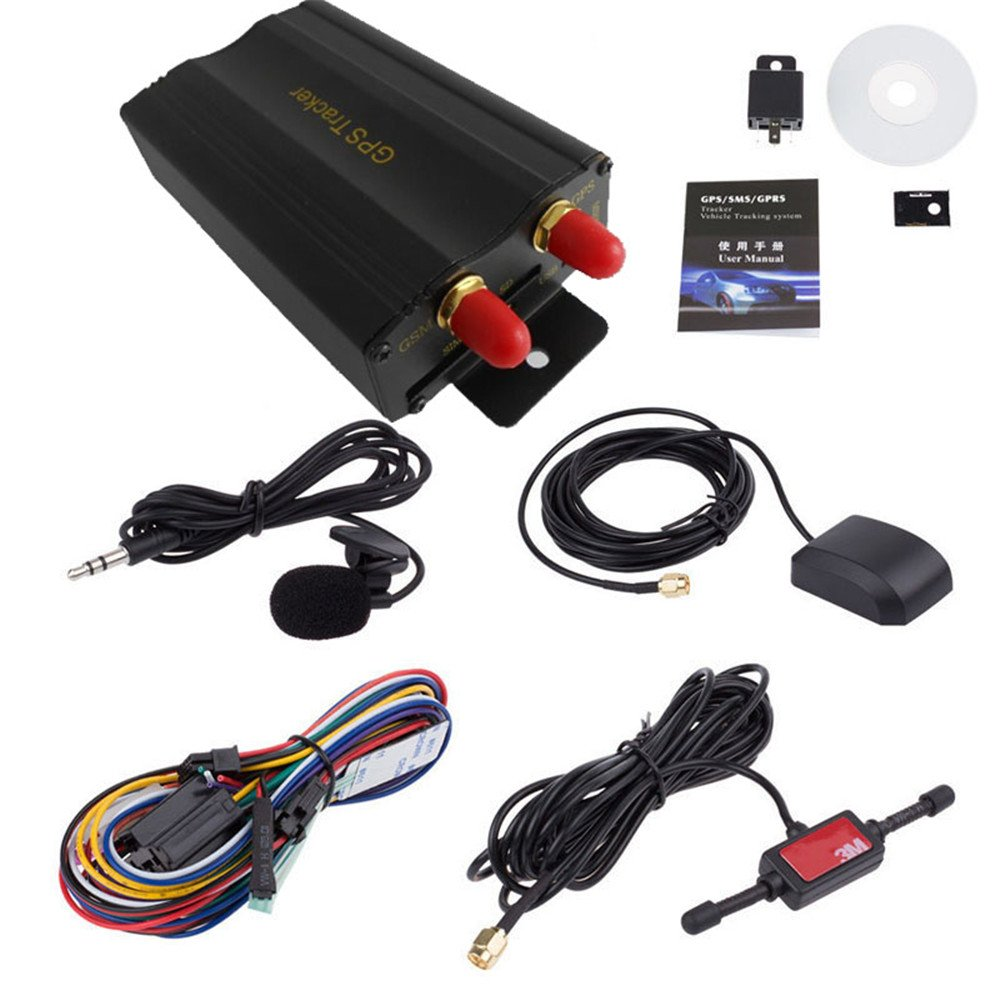 GPS Tracker,Ounice TK103A Vehicle Car GPS SMS GPRS Tracker Real Time Tracking Device System