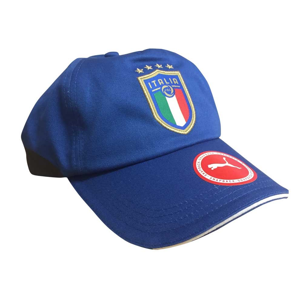 PUMA Cap Puma Italia Training Cap Team Power Blue/Peacoat OSFA PUMAE|#PUMA