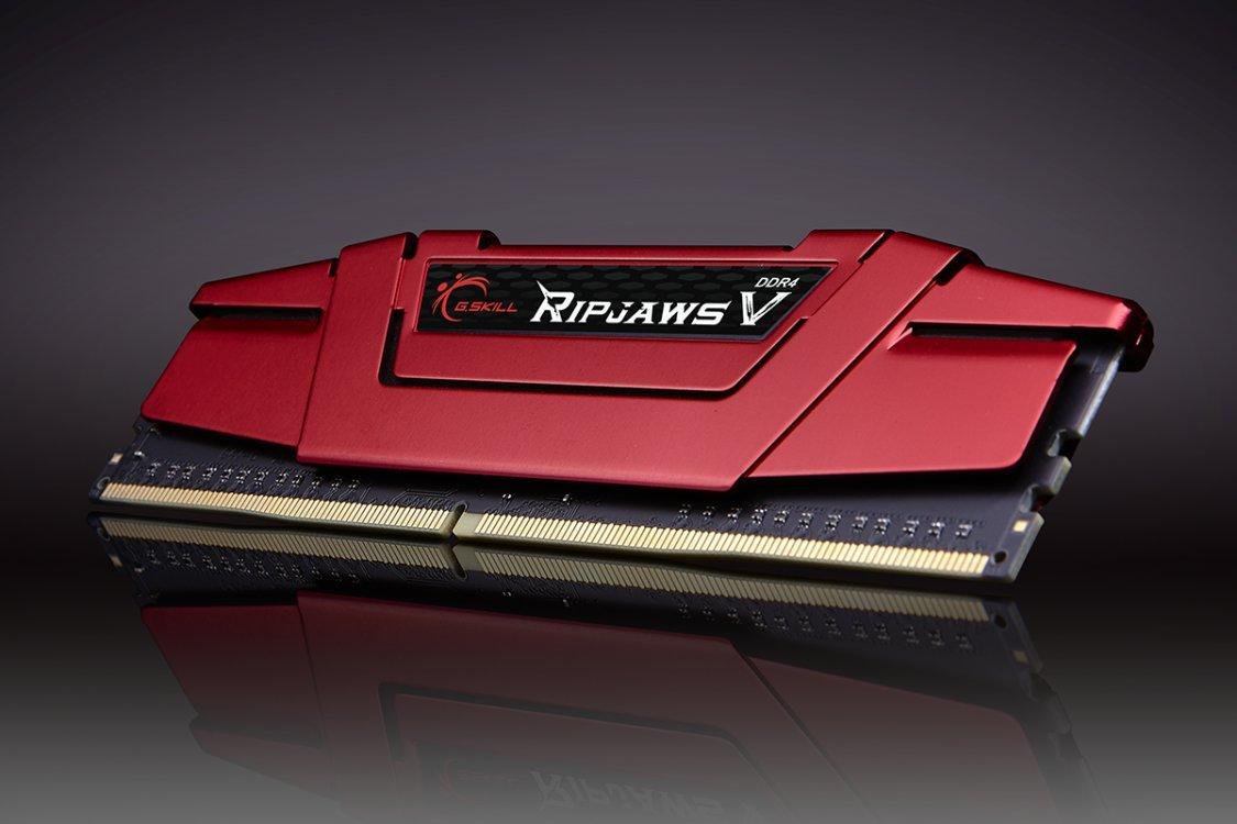 G.SKILL Ripjaws V series 8GB (1 x 8GB) DDR4 2133mhz Desktop Memory Model F4-2133C15S-8GVR