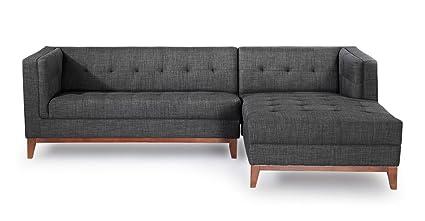 Phenomenal Amazon Com Kardiel Rf Midnight Harrison Modern Loft Uwap Interior Chair Design Uwaporg