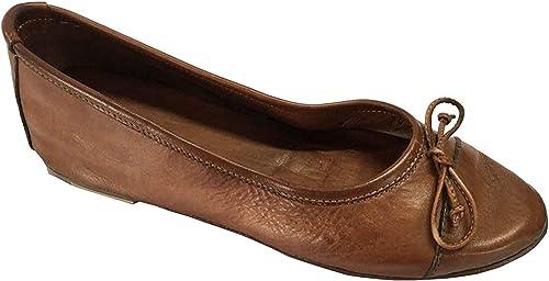 KUDETA' Women's Shoe Ballerina Leather
