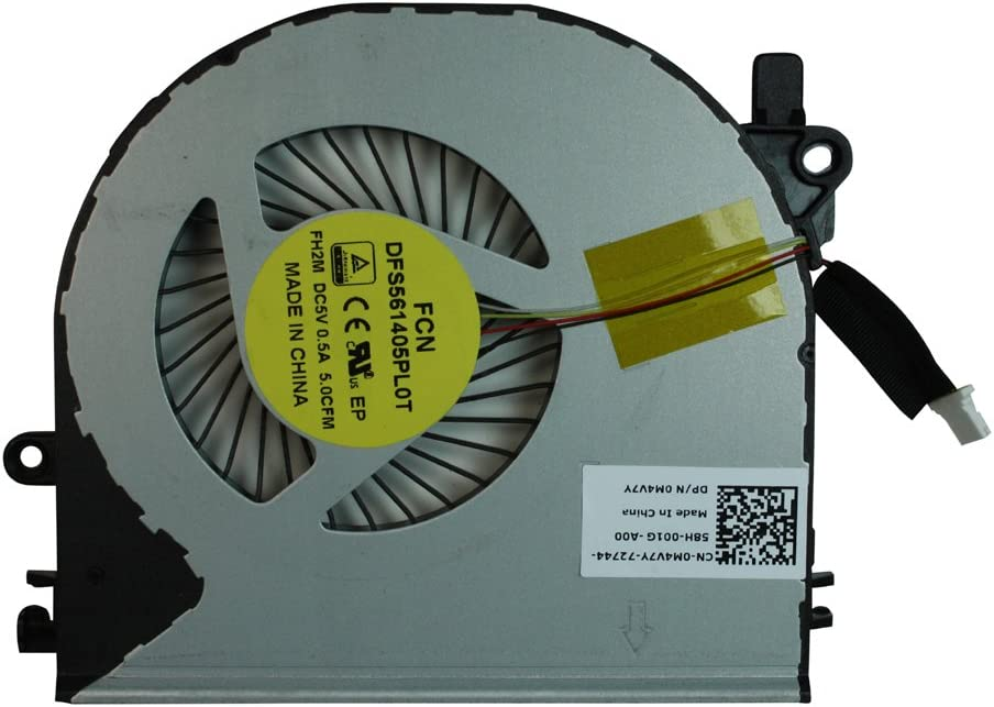 Dell Inspiron 5459 Power4Laptops Replacement Laptop Fan for Dell 0M4V7Y Dell Inspiron 14 5459