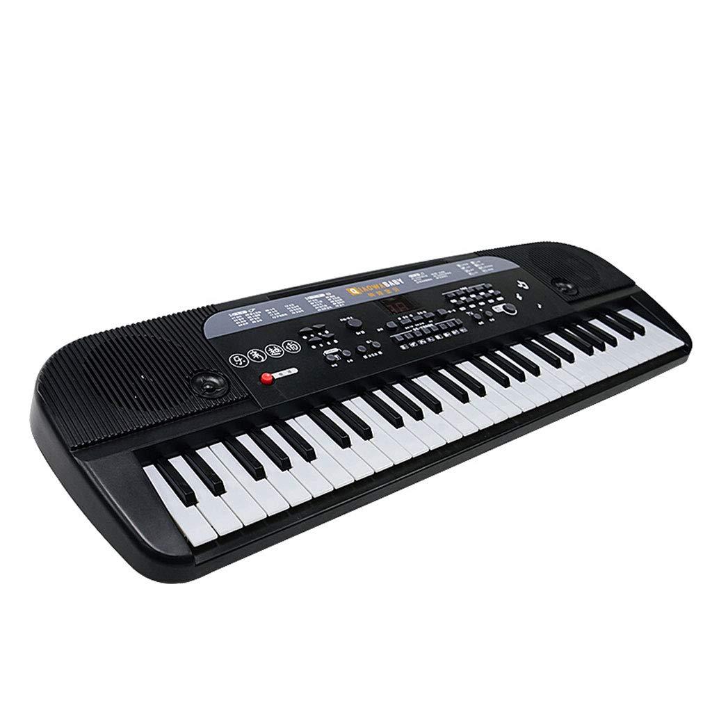 【特別セール品】 ベストチョイス キーボード子供初心者のマイクとベビー音楽ピアノおもちゃ ( )B07GMSLC79 黒 Color : 黒 ( )B07GMSLC79, calimart(カリマート):ffbe2416 --- a0267596.xsph.ru