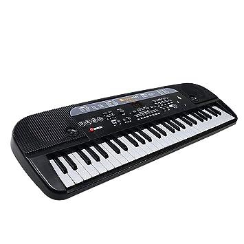Puzzle de Piano Teclado Niños Principiante con Micrófono Bebé Música Piano Juguete: Amazon.es: Juguetes y juegos