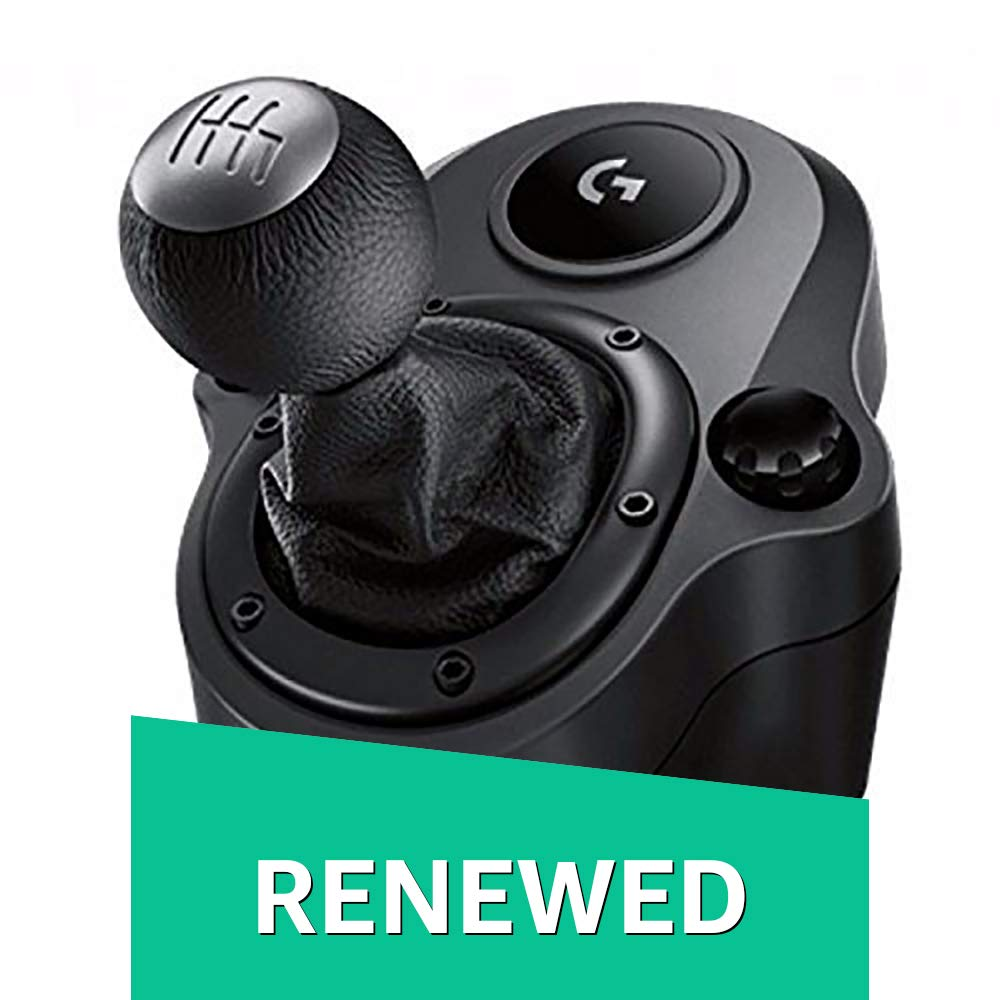 722d86ba654 Amazon.com: Logitech G Driving Force Shifter Compatible with G29 and G920  Driving Force Racing Wheels for Playstation 4, Xbox One, and PC (Certified  ...