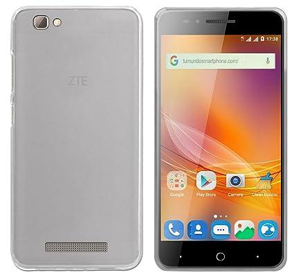 Tumundosmartphone Funda Gel TPU para Zte Blade A610 / A612 Color Transparente