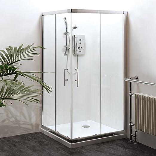 Moderno esquina entrada cuadrado doble Panel japonés puertas baño ...