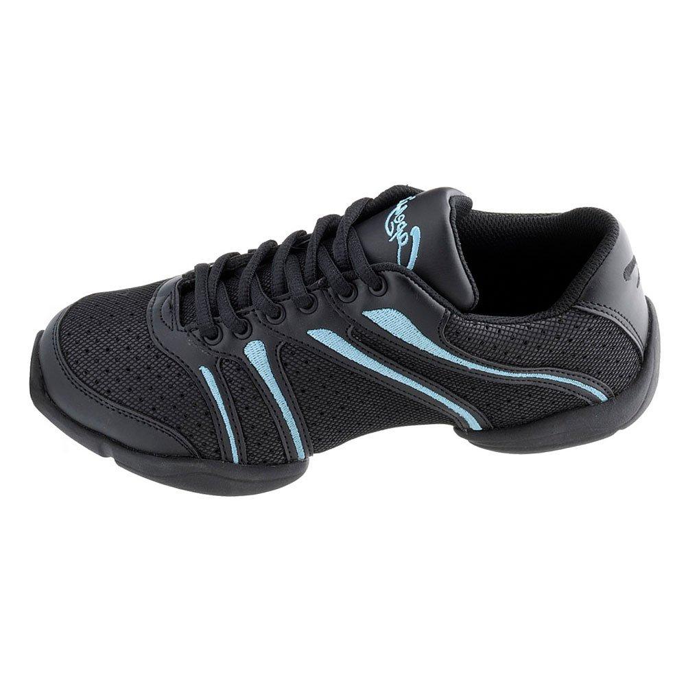 Capezio DS30 Bolt Tanz Turnschuhe - Blau - Größe 37