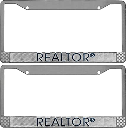 Branded with the REALTOR® logo Metal License