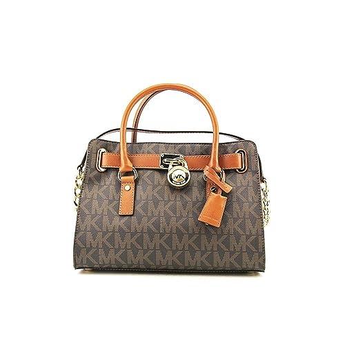 Michael Kors - Bolso estilo cartera para mujer marrón marrón: Amazon.es: Zapatos y complementos