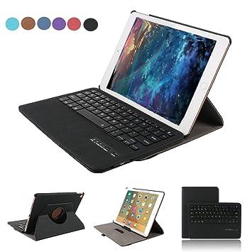 Funda Tablet para Samsung Galaxy Tab A 10.1, Dingrich Funda Teclado Bluetooth Inalámbrico Removible para Tab A T580/T585: Amazon.es: Informática