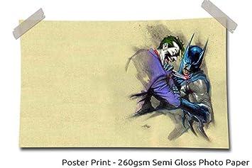 Batman Vs Joker 1 Dessin Anime Comique Taille 60 X 40 150cm X