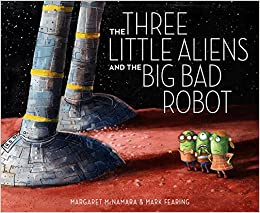 Image result for three little aliens and the big bad robot