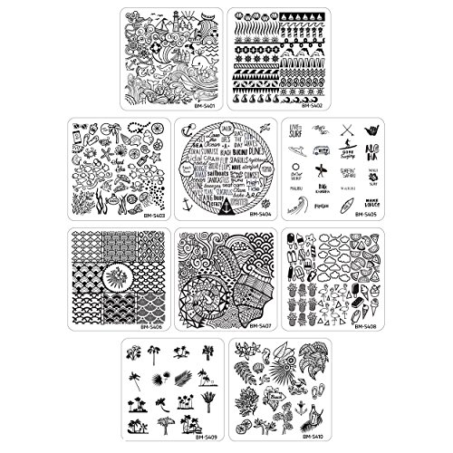 nail stamping starter kit - 7