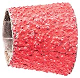 PFERD 41392 Tapered Type Abrasive Spiral Band, Ceramic Oxide Grain CO-Cool, 1-1/8 to 7/8'' Diameter x 1-3/16'' Length, 36 Grit (Pack of 100)