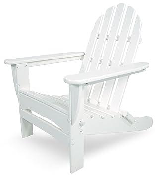 polywood ad5030wh classic folding adirondack white - Folding Lawn Chairs On Sale