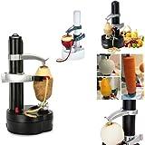 Descascador eletrico de laranja batatas frutas e legumes automatico a pilha