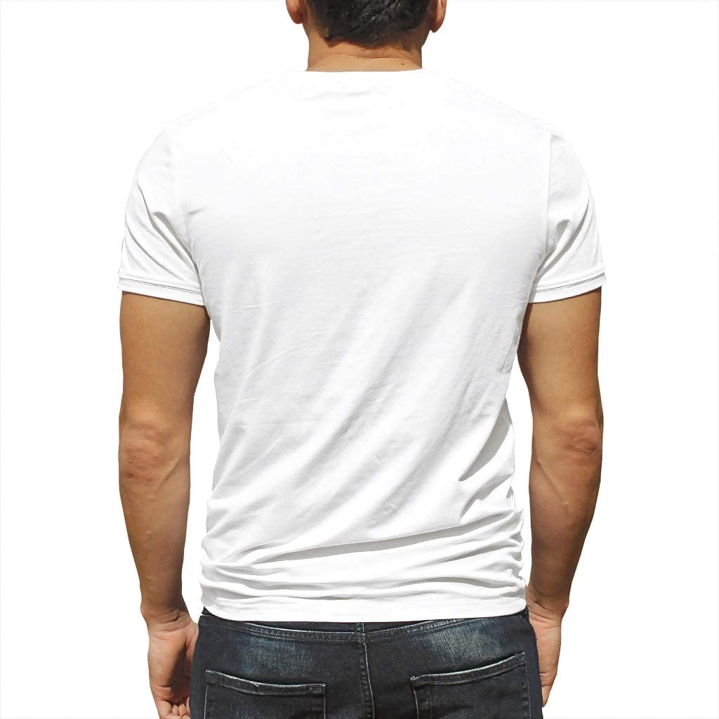 HMML My Dog Thinks Im Cool-Man 3D T-Shirt Pet Sayings Print Daily Short-Sleeve Crew Neck Funny T Shirt