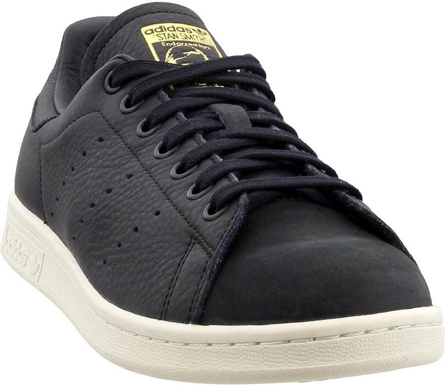Adidas Originals Gray Stan Smith Low top Nubuck Trainers for men