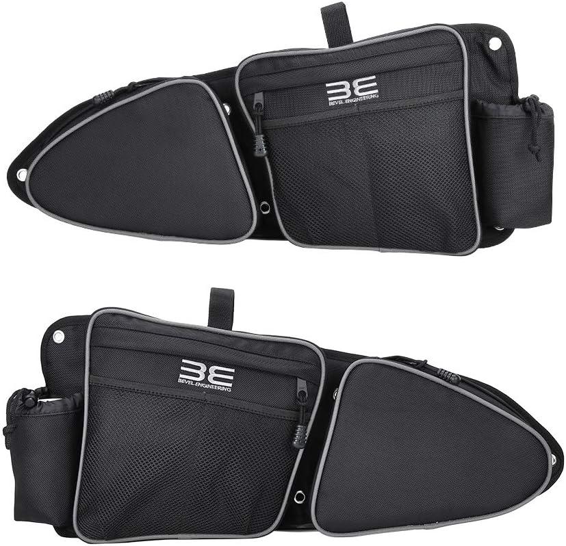Side Door Bags, New Design, Premium Offroad Front Door Side Storage Bag Set w/Knee Pad, Fits 2014-2020 Polaris RZR XP Turbo Turbo S 1000 S900: Automotive