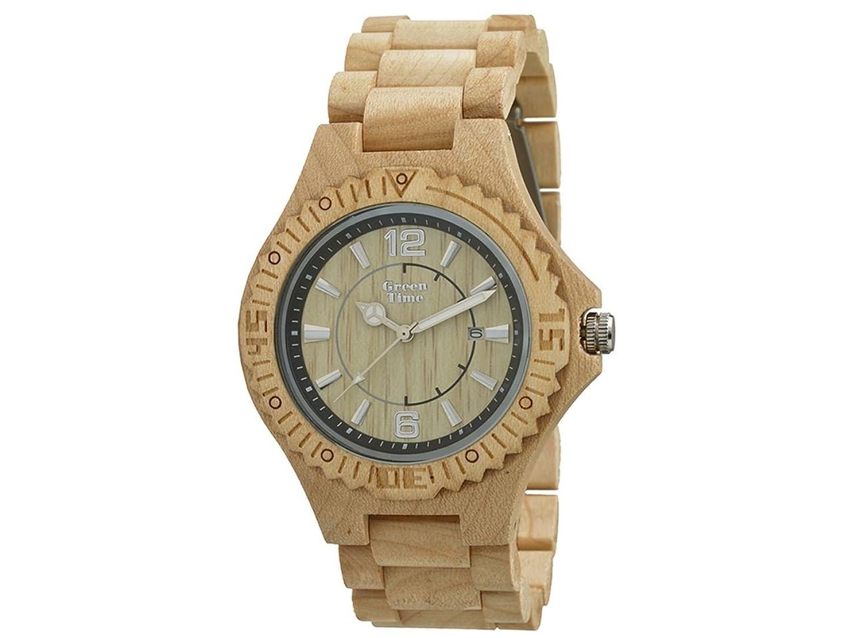 Greentime Uhr aus Holz von Ahorn zw057b