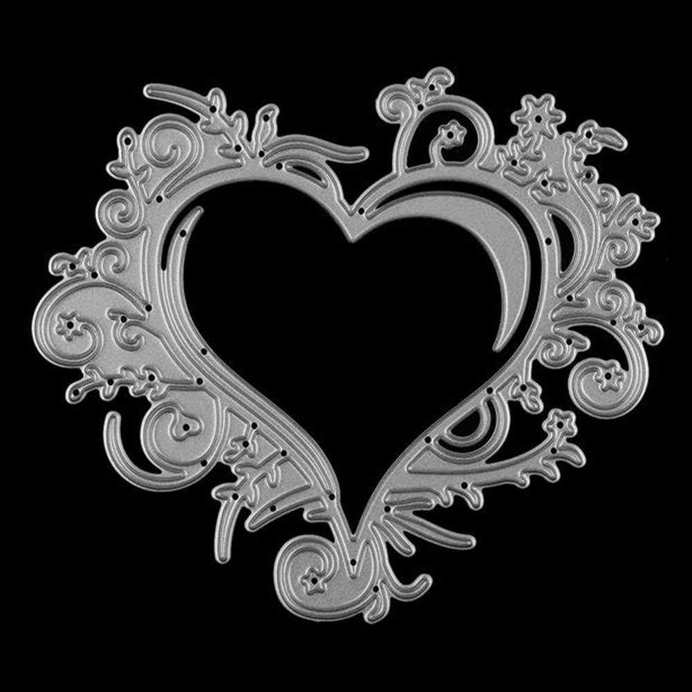 Gilroy Love Heart Metal Cutting Dies Stencil DIY Scrapbooking Embossing Album Paper Card Craft by Gilroy (Image #3)