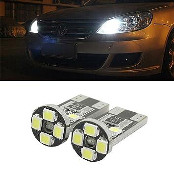 Bombilla T10 5 W5 LED lámpara alta calidad Premium matrícula luz de posición W5 W 8