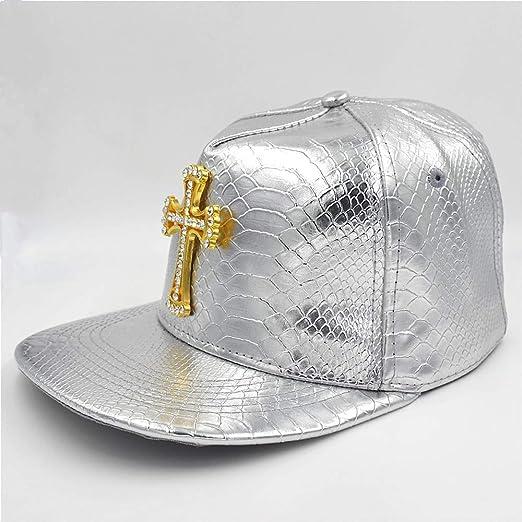 Modow Swag Hip Hop Hat Gorra de Béisbol Estilo Patrón Cruzado de ...
