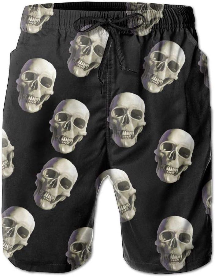 Evil Skull Men er Beach Boardshorts
