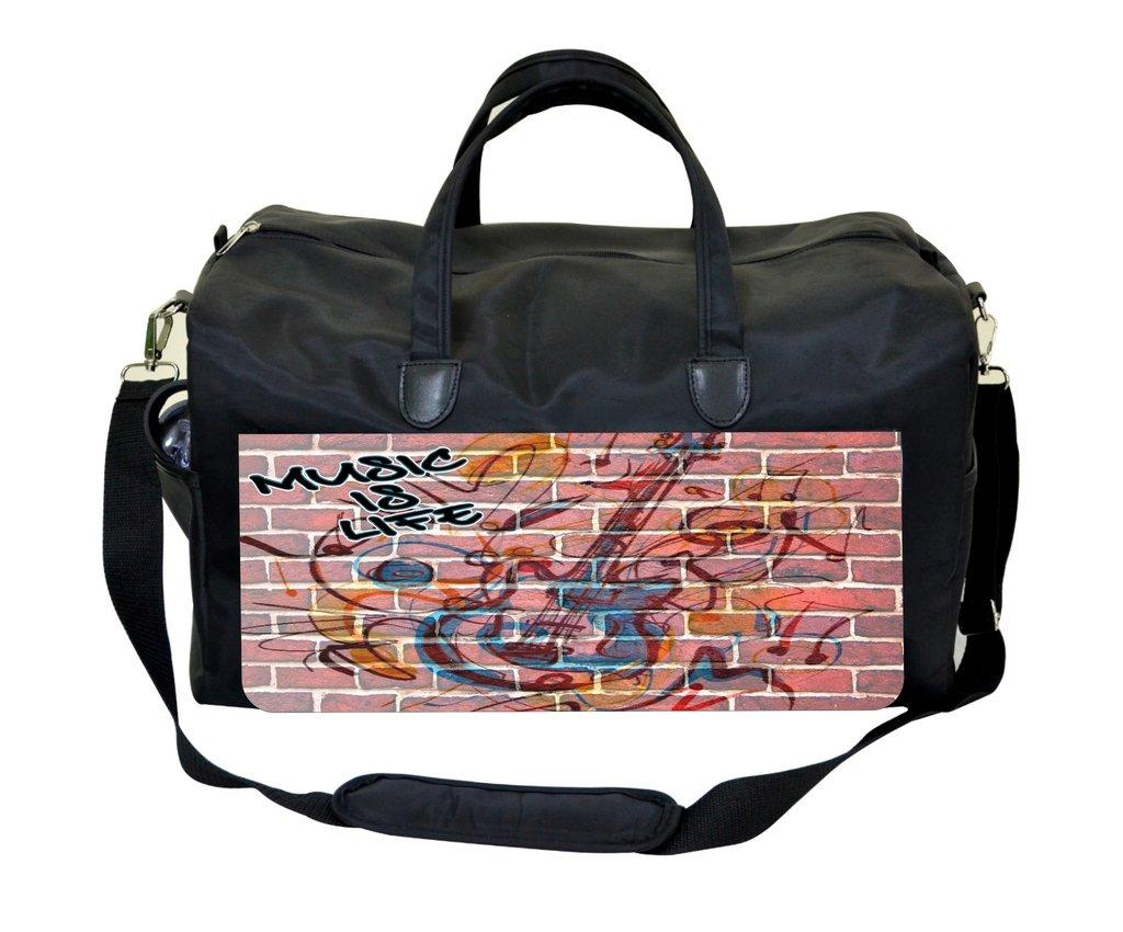 Music is Life Wall Art Gym Bag